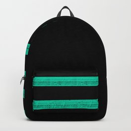Mint Strip Backpack