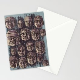 The Olmecs Stationery Cards