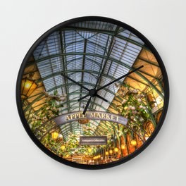 The Apple Market Covent Garden London Wall Clock