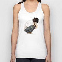 death note Tank Tops featuring L - Death Note by josemaHdeH