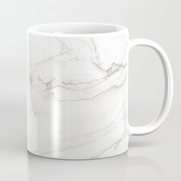White Marble 006 Coffee Mug
