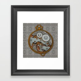 Pieces of Time Framed Art Print