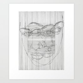 can't you see Art Print