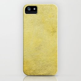 Gold, just gold iPhone Case