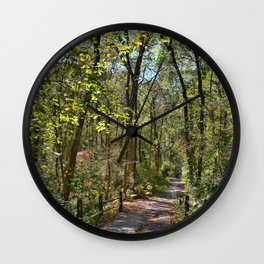 Trailblazing Wall Clock