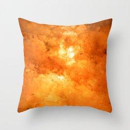 Himalayan Salt Lamp Throw Pillow