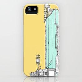 Nebraska Grain Elevator iPhone Case