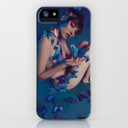 Butterfly Fly Free iPhone Case