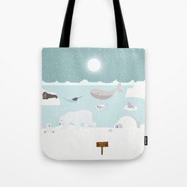 North pole Tote Bag