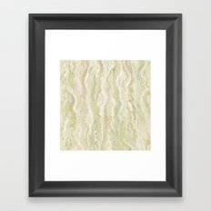 Citrine Melt Framed Art Print
