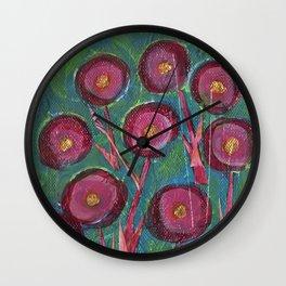 Swirly swirls Wall Clock