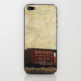 Wrong Side of the Tracks iPhone Skin
