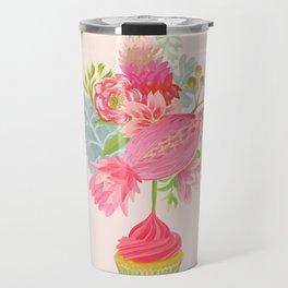 Cupcake Bouquet Travel Mug