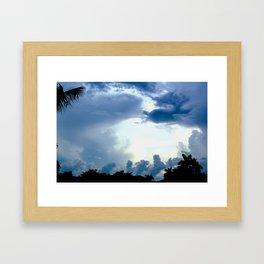 Florida Sky Framed Art Print