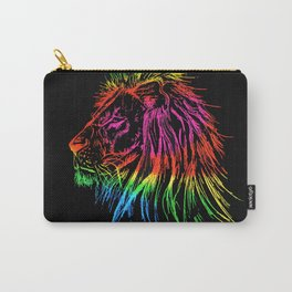 Rainbow Lion Carry-All Pouch