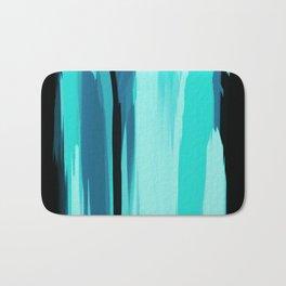 Soft Determination Aquamarine Bath Mat