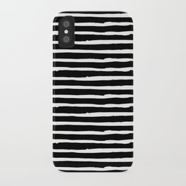 Hand Drawn Stripes iPhone Case