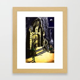 Door to Adventure Framed Art Print