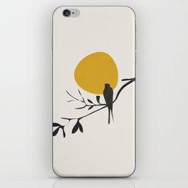 Bird and the Setting Sun iPhone Skin