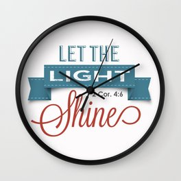 Lighters Wall Clock