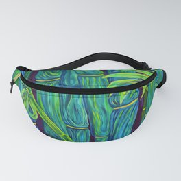 ʻOhe Polū - Blue Bamboo Fanny Pack