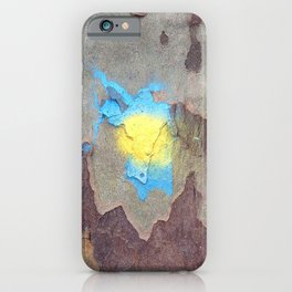 NVSV SPCS_yellow and blue blaze iPhone Case
