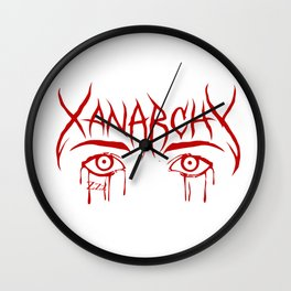 Lil Xan Anarchy Wall Clock