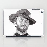 clint barton iPad Cases featuring Clint II by Rik Reimert