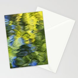 Sea Breeze Mosaic Abstract Art Stationery Cards