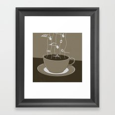 GOOD MORNING 03 Framed Art Print