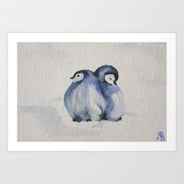 2 cold Art Print