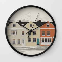 Lombard St. Portsmouth Wall Clock