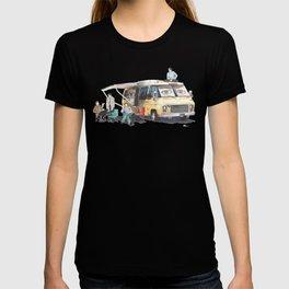 the GISHBUS T-shirt