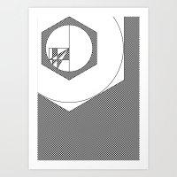 Geo #1i Art Print
