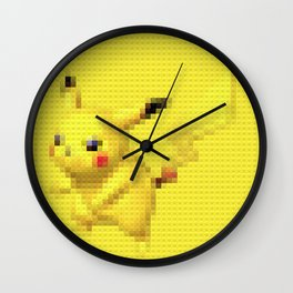 Electric Mouse - Legobrick Wall Clock