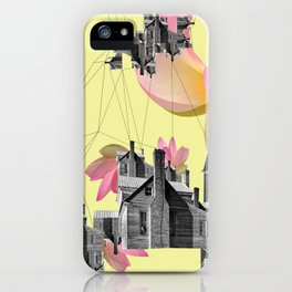 Filled with city iPhone Case