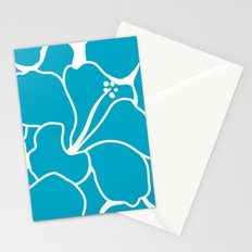 Hibiscus Animal: Caribbean Blue Stationery Cards