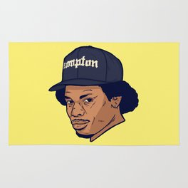 Dead Hip Hop Icons Series: Eric Wright Rug