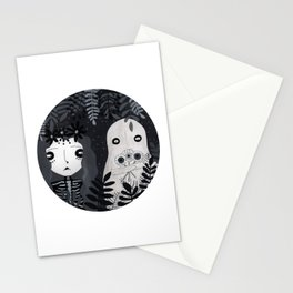 Ojos de paleta Stationery Cards