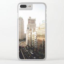 Gran Vía Clear iPhone Case