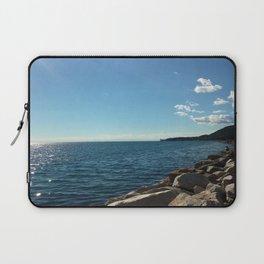 Barcola Beach Laptop Sleeve