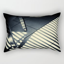 Shadow Slit Abstract Rectangular Pillow
