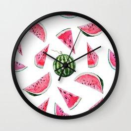 Melon Pattern 03 Wall Clock