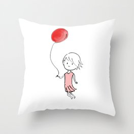 Maundering Throw Pillow