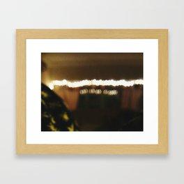 Bookeh Framed Art Print