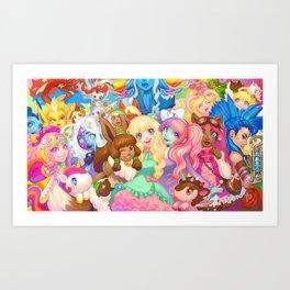 Dollightful Banner Art 2018 Art Print