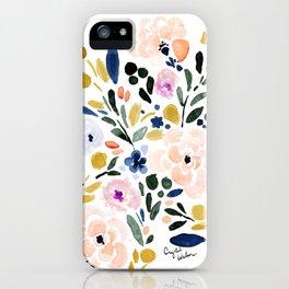 Sierra Floral iPhone Case