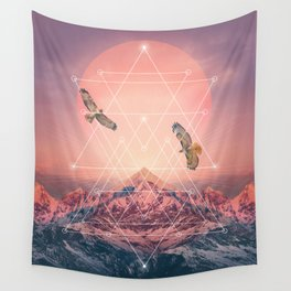 Find the Strength To Rise Up Wall Tapestry