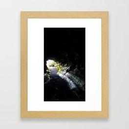 Lava Tube Framed Art Print