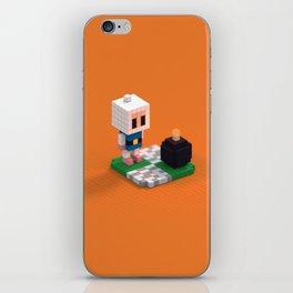 Voxel Bomberman iPhone Skin